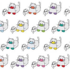 Corona Cat Rainbow