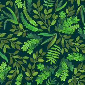 Gorgeous Greens by Angel Gerardo