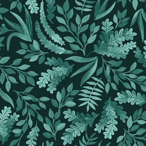Gorgeous Sage Blue Greens by Angel Gerardo