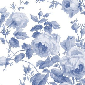 Dolly Rose ~   Willow Ware Blue and White