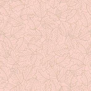Falling Leaves (Peach)