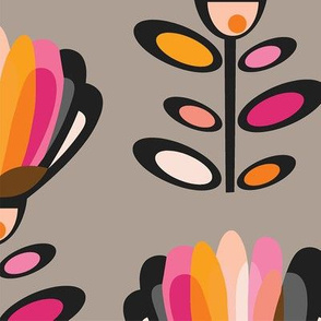 PAPER-CUT-MID-CENTURY-FLOWER-WALL-PAPER-GREY