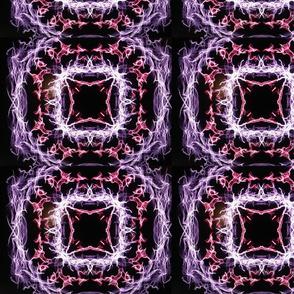 Lilac lightning Mirror repeat