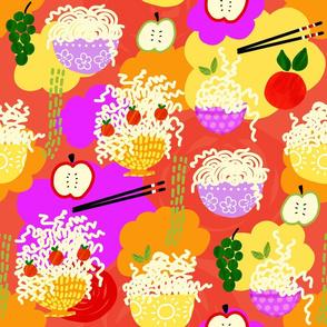 Noodles Colorful 21inch