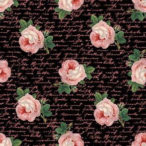 pink skull roses rosepnk02