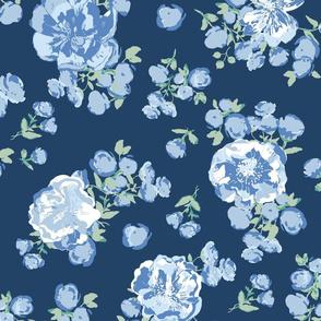 Nostalgic Bouquet - Blue