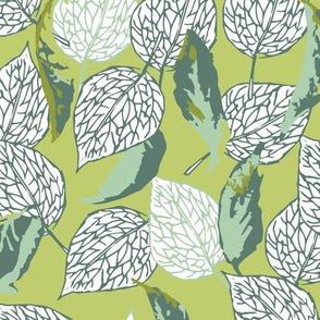 Shrouded in Leaves - Green