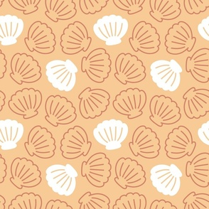 Seashell in Tequila Sunrise