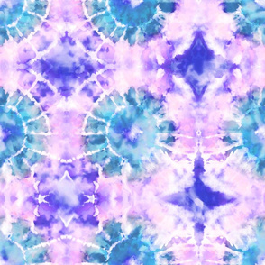 Tie Dye - Purple Turquoise