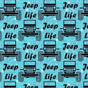 jeep life blue