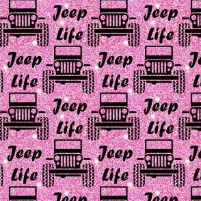 jeep life pink