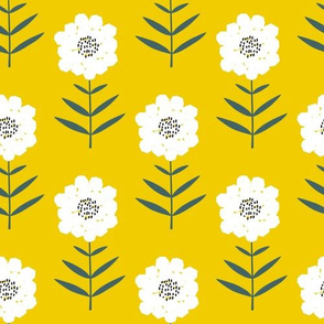 Cut Blooms - Yellow Mustard - large