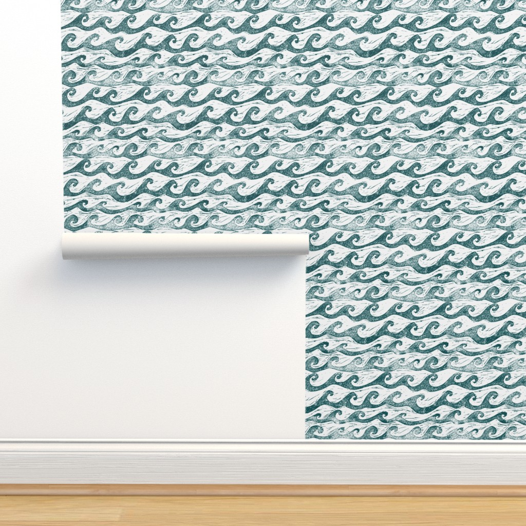 Isobar Durable Wallpaper featuring Wave  by sodabyamy