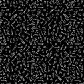 Transistors - White on Black