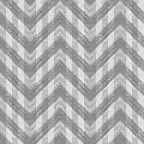 Vintage Gray Chevron Pattern