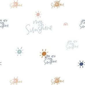 You Are My Sunshine Appliqué