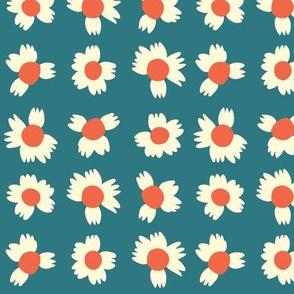 Itty Bitty Flowers - Blue