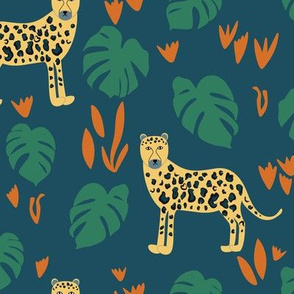 In the Jungle - Teal