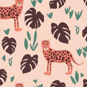 In the Jungle - Peach