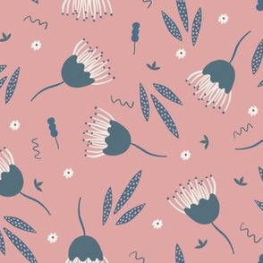 Funky Floral - Pink