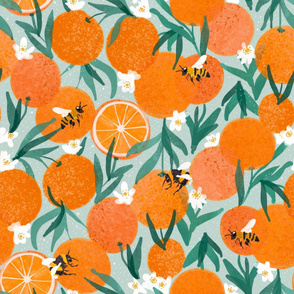 Beautiful_Oranges2 bees