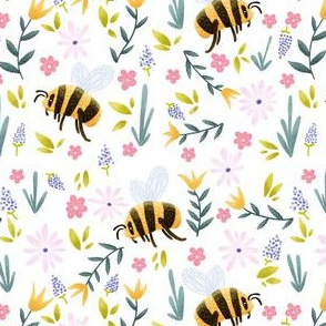 Bumblebees in Spring
