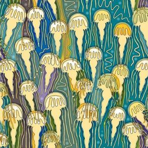 blooming jellies