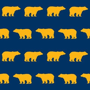 cal bear fabric - golden bear fabric