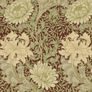 William Morris ~ Chrysanthemum ~  Original on Wood Island Road
