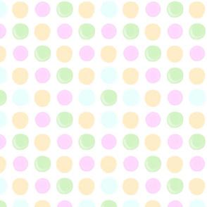 Lotsa Dots baby pastels