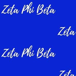 Zeta Phi Beta Sorority Fabric