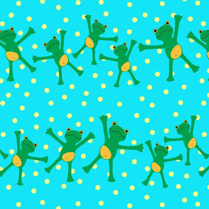 """Popeloning """"Frogs and Dots"""""""