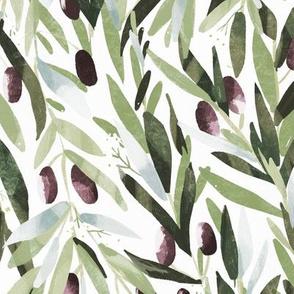 Olives white