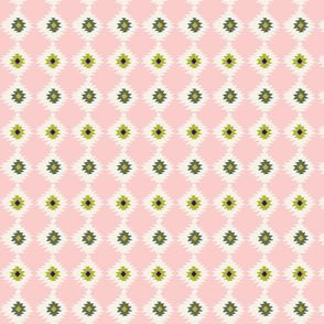 Pink Geometric Ikat_Alice Potter_2020