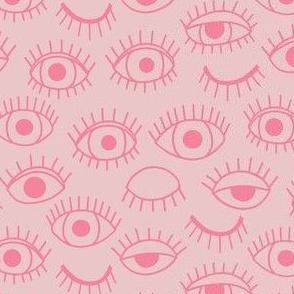 eyes - pink