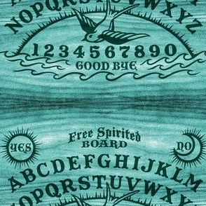 Free Spirited Board in Teal - Small