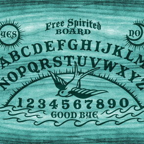 Free Spirited Board in Teal - Large