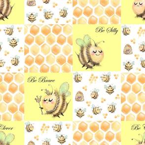 Bee patchwork
