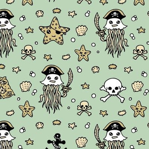 Jelly Pirates Pale Blue