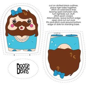 Bearded Lady Plush