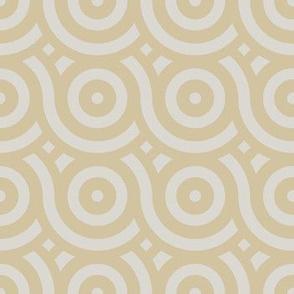 Geometric Pattern: Loop: Sandstone