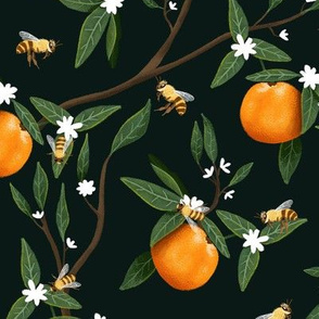 Bees & Oranges - Branches - Dark