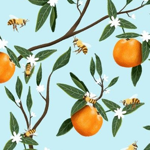 Bees & Oranges - Branches - Light