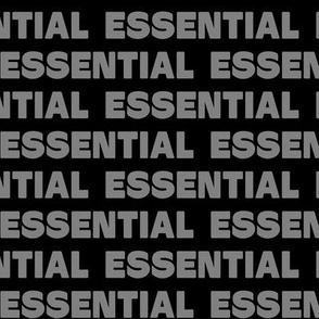 Essential - Large (black & gray)
