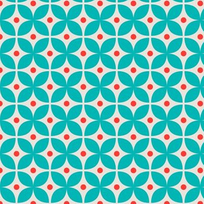 Geometric Pattern: Stylised Flower: Kletson