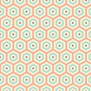 Geometric Pattern: Hexagon Hive: Carla Babcock