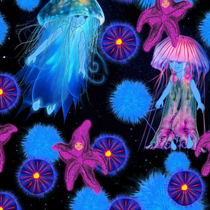 Glowing jelly girls