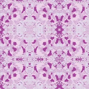 Lavender Floral Abstract