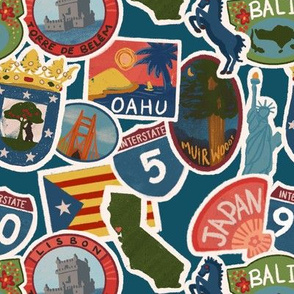 Travel Stickers