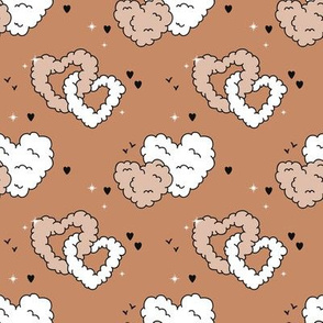 Love is in the air - beige red